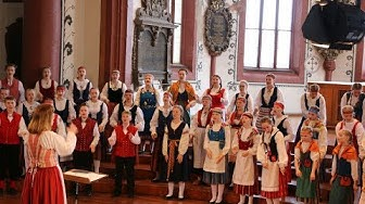 "Kinderchor Vox Aurea, Finnland (Sanna Salminen) | ""O scholares/Gaudete"" trad. Finnland (EJCF 2018)"