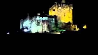 Ghost piper at Eilean Donan Castle, Scotland