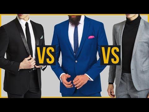 Цвета Мужских Костюмов | Какой костюм лучше?
