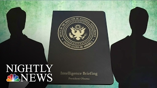 Inside The Russian Hacking Report President Obama Received | NBC Nightly News
