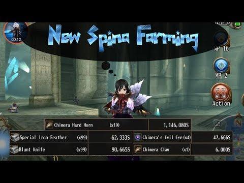 Toram Online |トーラム New Spina Farming ( 1 Million Spina )