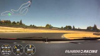 Vuelta onboard al Jarama con un Alfa Romeo Mito