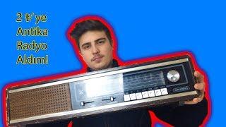 2 TL' YE ESKİ RADYO ALDIM! (Bir Antika Radyo Yenileme Hikayesi)