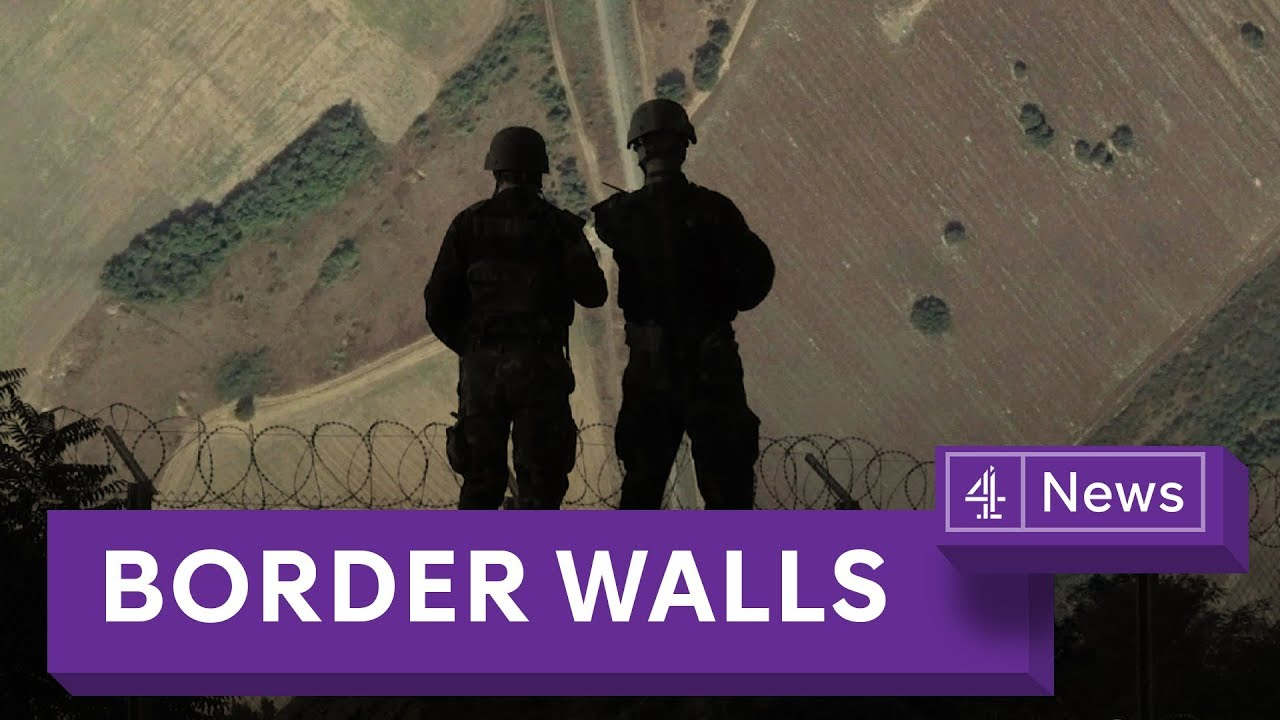 Why the number of border walls is increasing globally