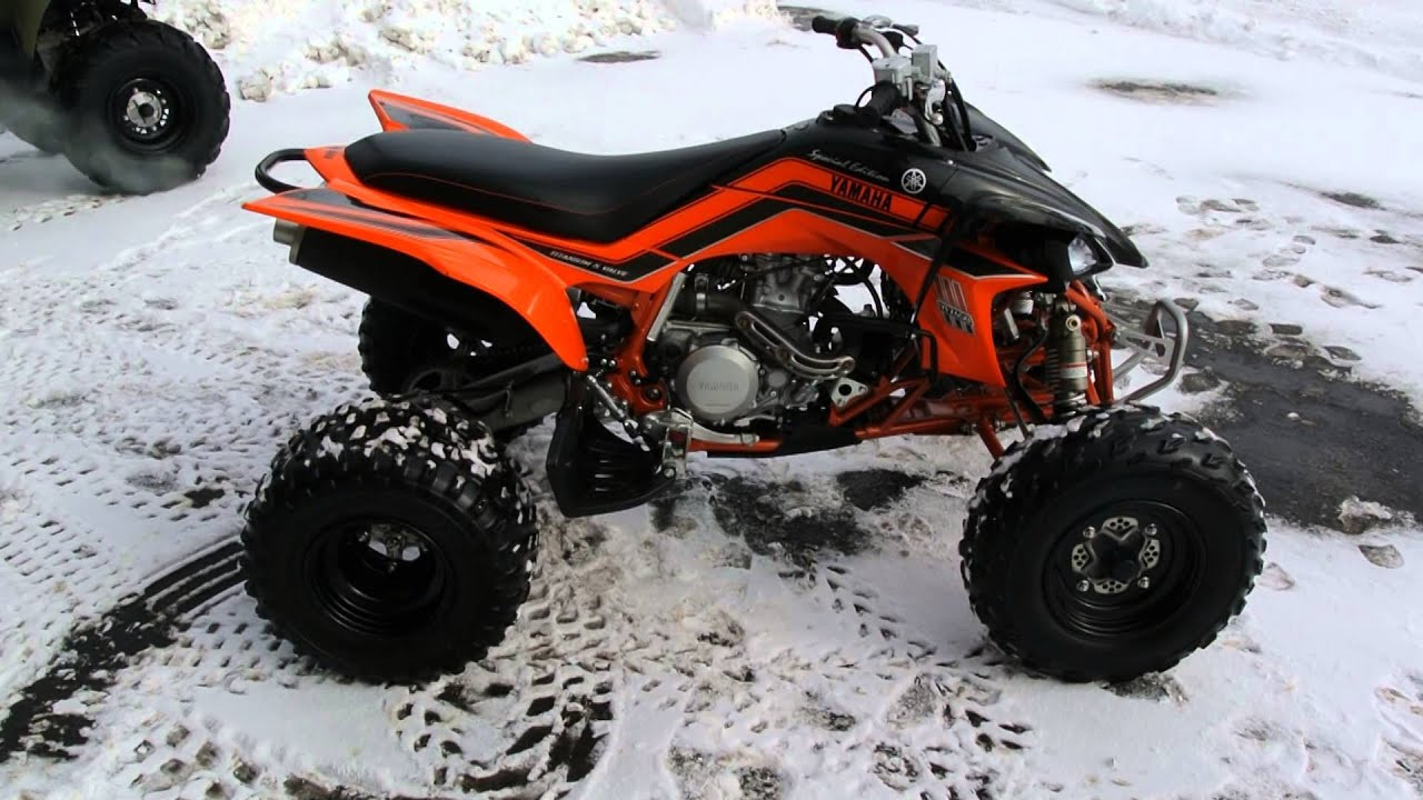2008 yamaha yfz450 special edition orange and black youtube for 2008 yamaha yfz450
