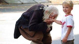 감동 알고 보면 놀라움의 노숙자의 정체.불가리아의 성인!