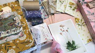 New gorgeous washi & vintage wallpaper pockets