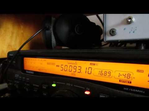 UN7AM 50 MHz CW from Kazakhstan