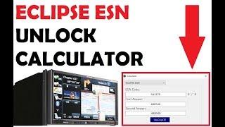 Unlock Fujitsu ECLIPSE AVN110, AVN111, AVN112, AVN133, C9TB, G01