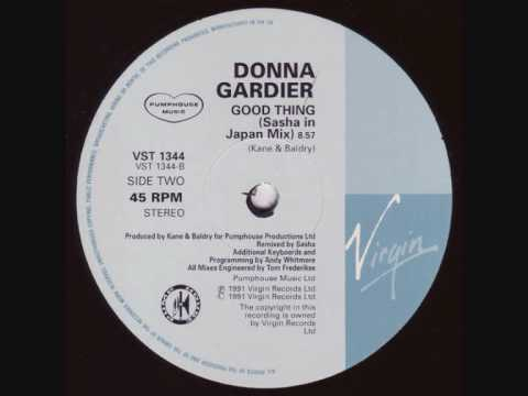 Donna Gardier - Good Thing (Sasha In Japan Mix) 1991