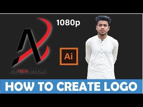 how-to-design-a-logo-with-adobe-illustrator-|-adobe-illustrator-tutorials-2019