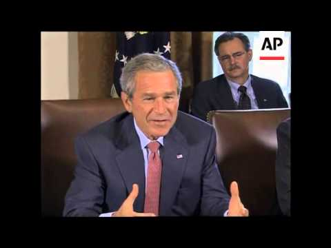 President on NKorea, Afghan elections, Katrina and Rita