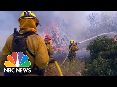 Wildfires In California Cost Millions | NBC News