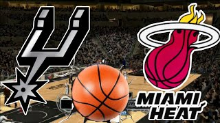 NBA 2K14 PS3 - San Antonio Spurs vs Miami Heat