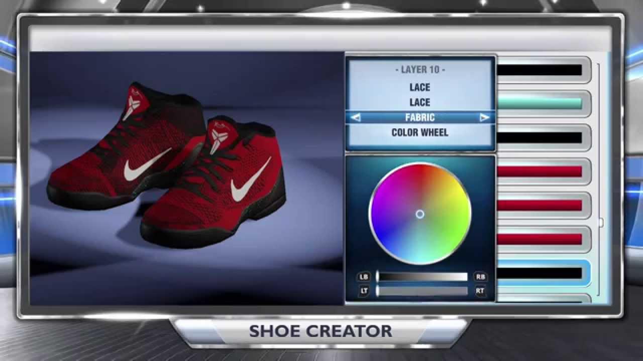 watch 3c88c fcfb3 NBA 2K14 Shoe Creator - Kobe 9 University Red   Black