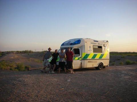 Mongolia Charity Rally Team Ulaan-Ambulance