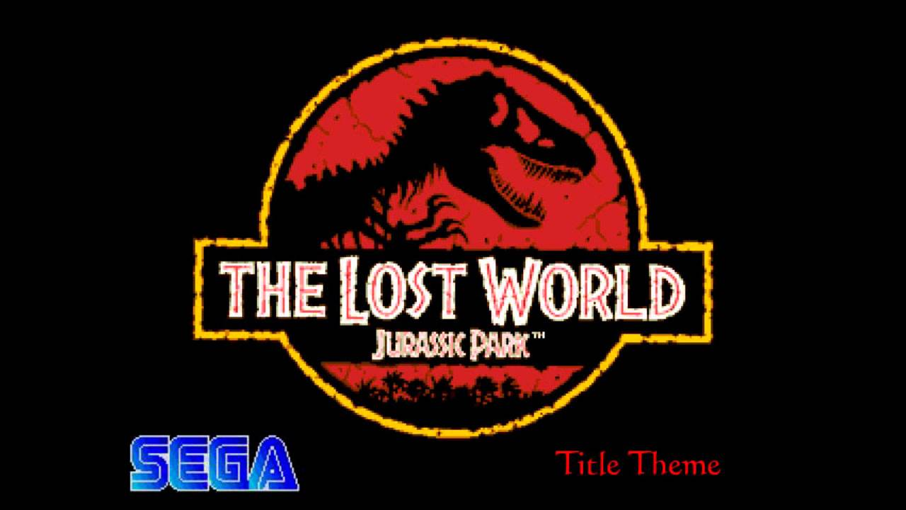 The Lost World Jurassic Park Title Theme Sega Genesis Megadrive Youtube
