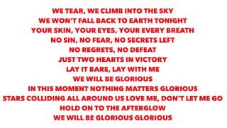 Glorious - Måns Zelmerlöw (Lyrics)