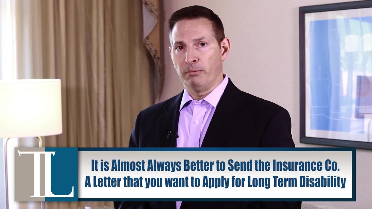 Should I Apply For Long Term Disability Benefits If Denied Short Term  Benefits? – John V  Tucker