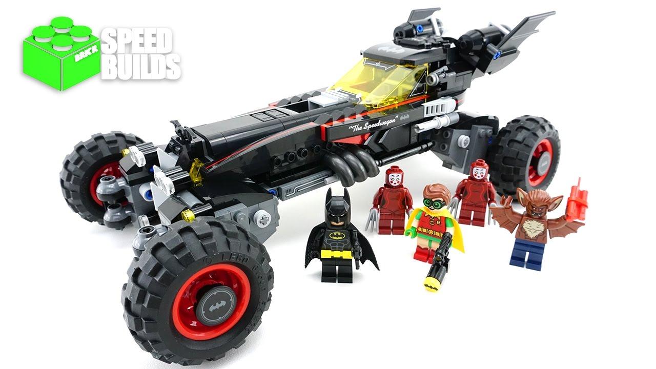 Cool LEGO Batman Movie 70905 The Batmobile  4K LEGO Speed