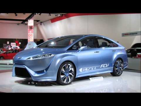 2015 model toyota fcv hydrogen fuel concept