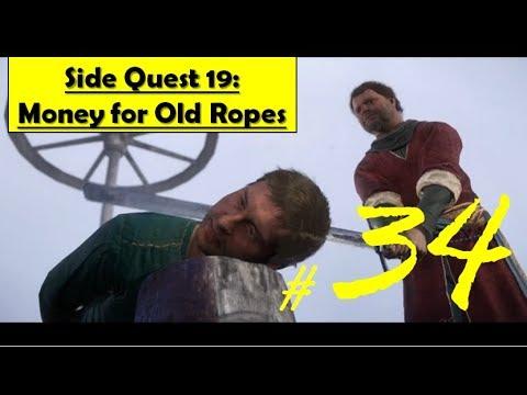Kingdom Come Deliverance - Money for Old Rope | Sabotage Execution, Good/Bad Ending Both