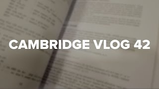 Cambridge Vlog 42 | Choosing Modules