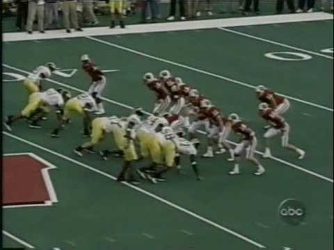 2001: Michigan 20 Wisconsin 17