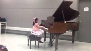 第六屆香港少年及幼兒藝術節鋼琴比賽幼兒B組冠軍 - 古曉柔 (Rachel Ko)