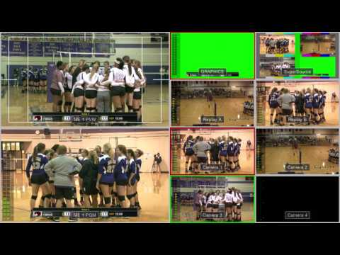 ATEM Switcher Multiview - Volleyball Match #1