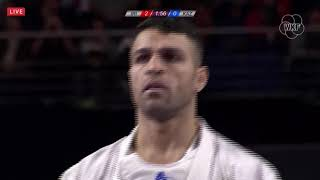 ZABIOLLAH POORSHAB: Bronze Match. World Karate Championships 2018, Madrid