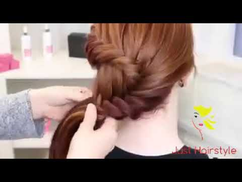 Simple Mehndi Hairstyle For Medium Hair Girls Quick Hairstyle 2018