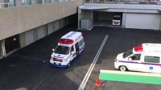 済生会千里病院から出場する、千里救命救急センターのドクターカーです。