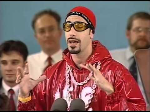 Sacha Baron Cohen Ali G Class Day  Harvard Commencement 2004