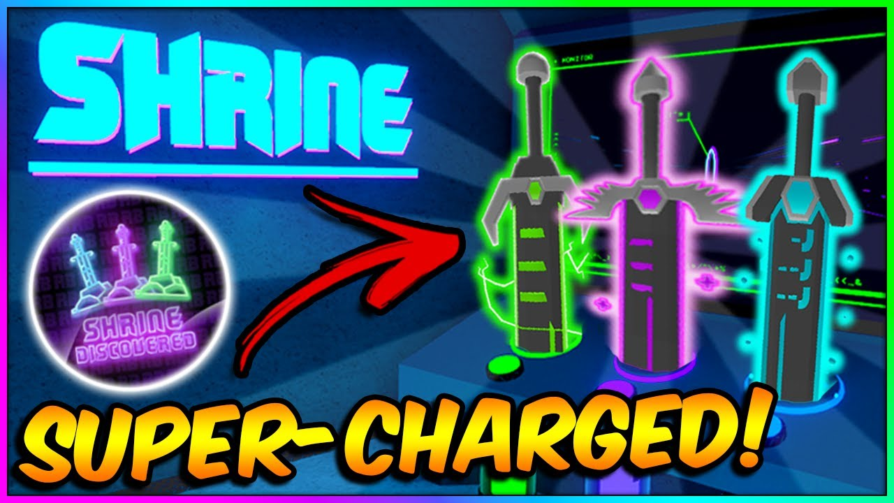 Download How to Get SWORD SHRINE Badge & Supercharge your Swords ⚔️ | Roblox RB Battles Event