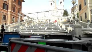 Spanska trappan mars 2013