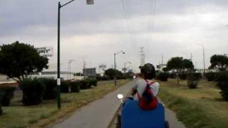 Diy Pedal Car Happy Charly Riding.avi
