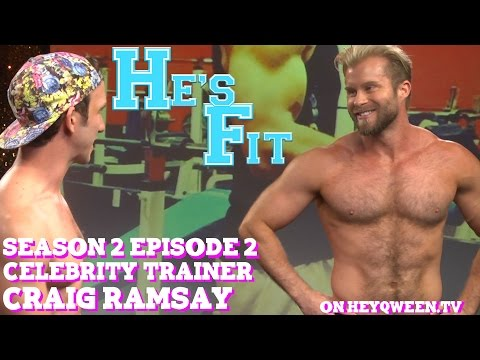 Craig Ramsay on He's Fit!: Shirtless Fitness & Muscle Exploitation