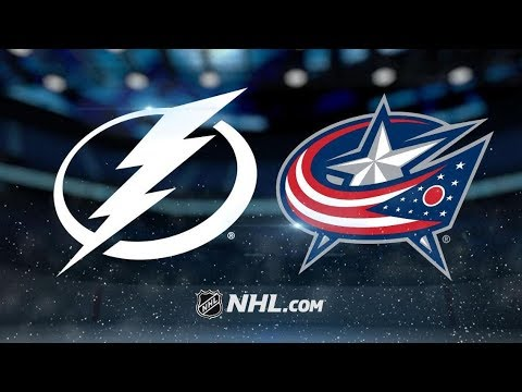 Tampa Bay Lightning vs Columbus Blue Jackets | Feb.18, 2019 | Game Highlights | NHL 2018/19 | Обзор