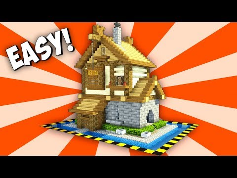 STARTER HOUSE WITH MINING SYSTEM! Survival-houses for friends!