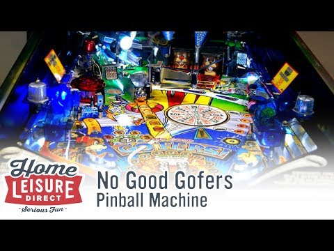 No Good Gofers Pinball Machine (Williams 1997)