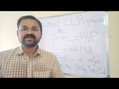 CLR Parser in compiler design with solved example2