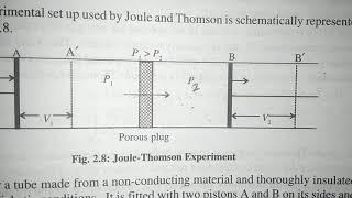 Joule - Thomson effect