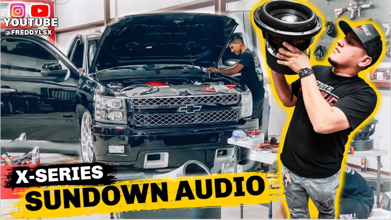 Installing Sundown Sound System On Single Cab Silverado 🔊
