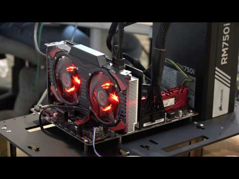 PNY Xlr8 GTX 1070 GPU Unboxing