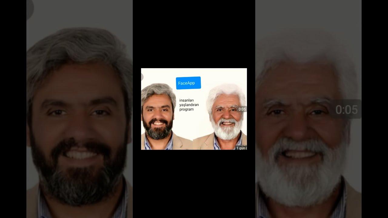 Yeni Akım:yaşlanma programı faceApp