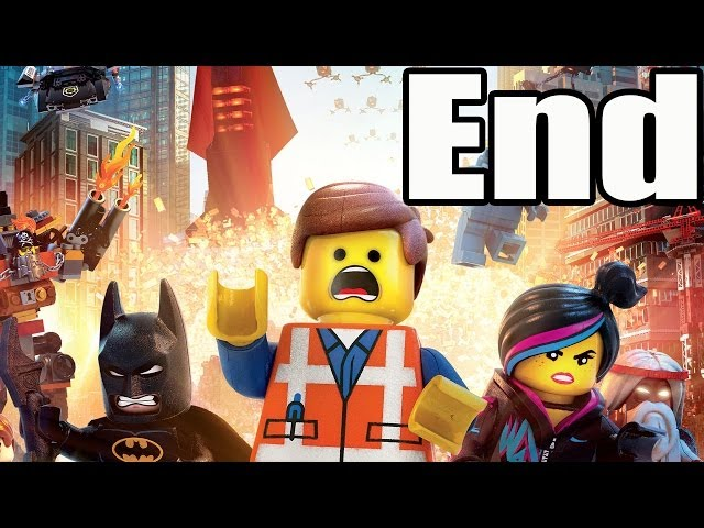 The Lego Movie Videogame Final Boss and Ending / End Travel Video