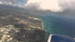 Landing in Beautiful Honolulu Hawaii