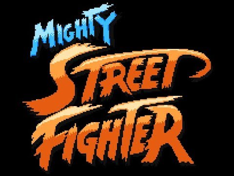 Mighty Street Fighter MUGEN Playthrough with Haggar (1080p/60fps)
