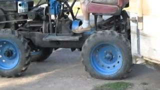 Мини-трактор  4х4 из мотоблока